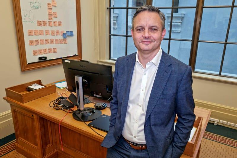 New Zealand AP Interview James Shaw