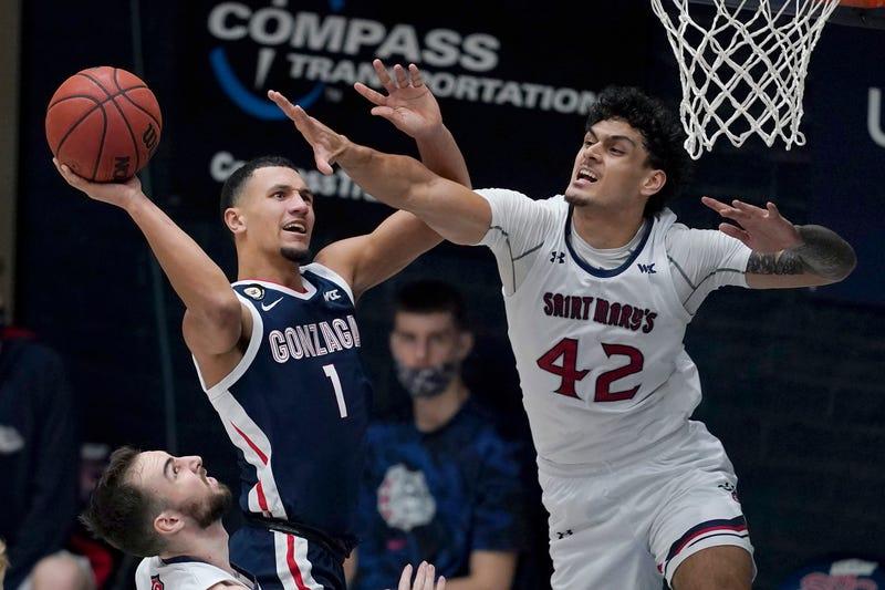 Gonzaga Saint Marys Basketball
