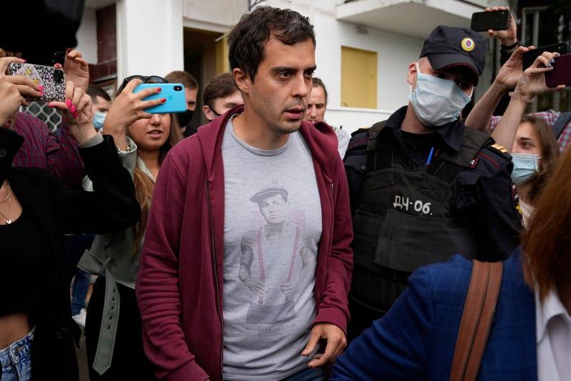 Russia Journalist Raid