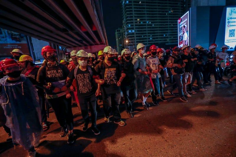 APTOPIX Thailand Protests