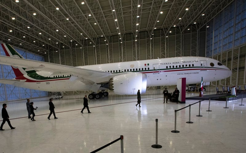 Mexico Presidential Jet