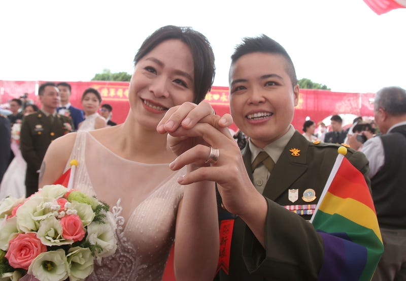 Taiwan Military LGBT Marriage