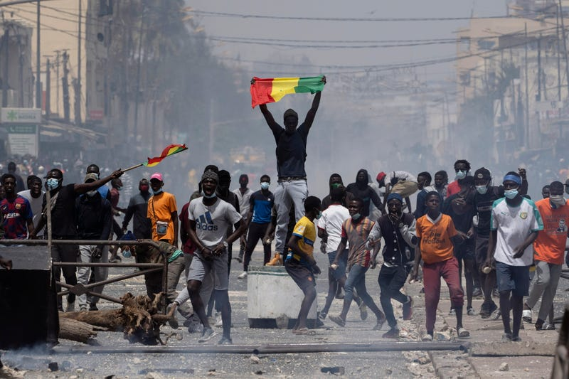 APTOPIX Senegal Protests