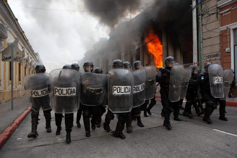 APTOPIX Guatemala Protest