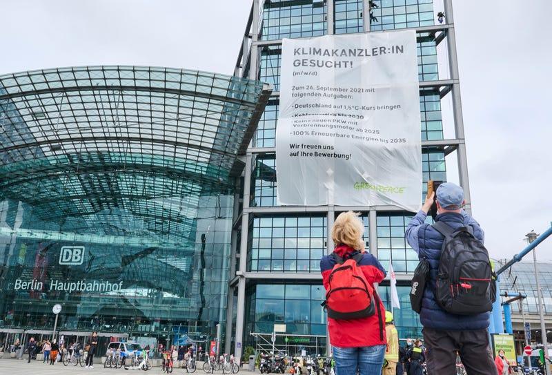 Germany Election Greenpeace