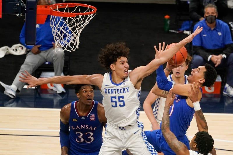Kentucky Kansas Basketball