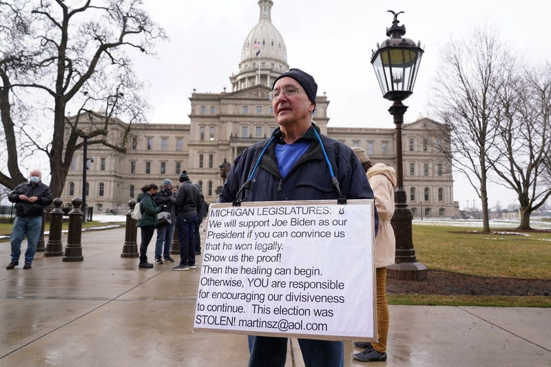 Capitol Breach Demonstrations Michigan