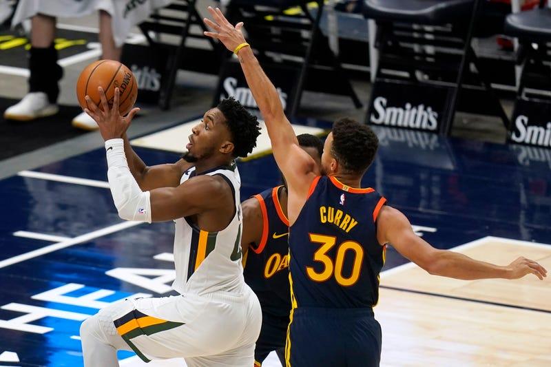 Warriors Jazz Basketball