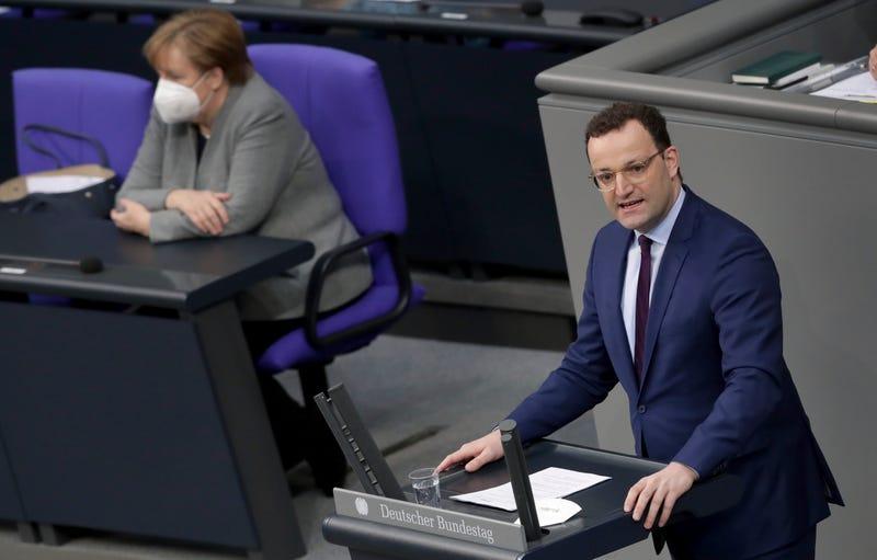 Virus Outbreak Germany Parliament