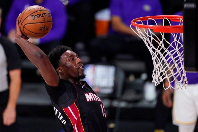 Heat Adebayo Basketball