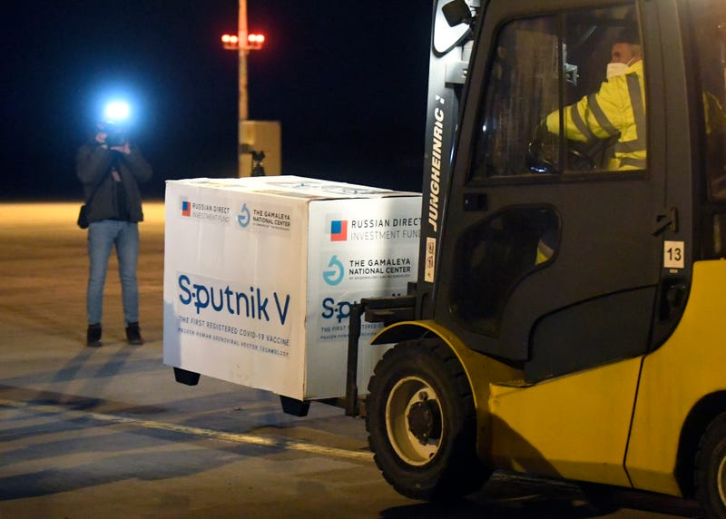 Virus Outbreak Slovakia Sputnik V
