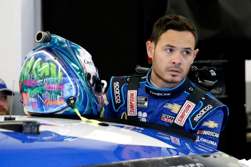 NASCAR-Larson Reinstated Auto Racing