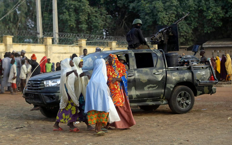 APTOPIX Nigeria Kidnapped School Girls Freed