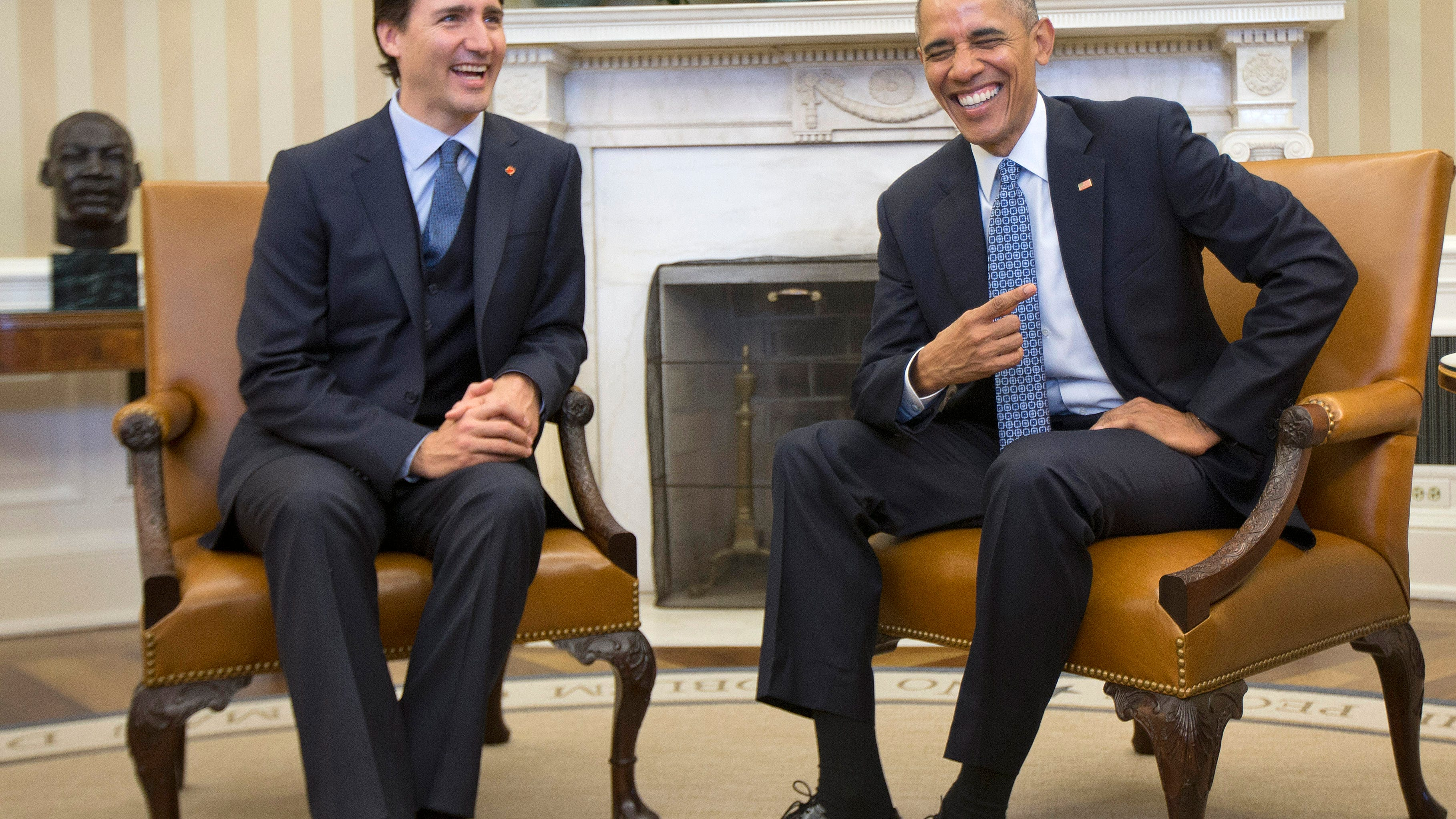 Obama endorses Trudeau in the Canadian election