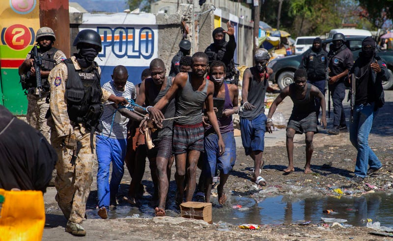 APTOPIX Haiti Prison Outbreak