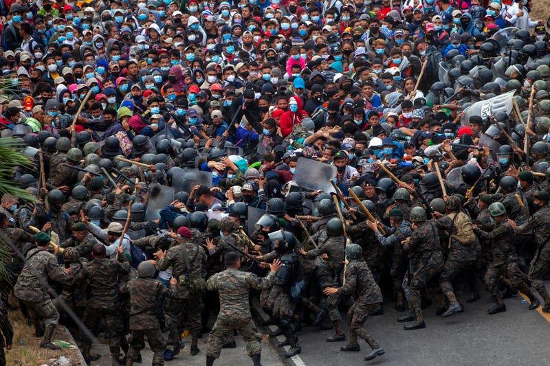 APTOPIX Guatemala Migrants