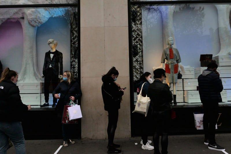 Virus Outbreak France Global Economy
