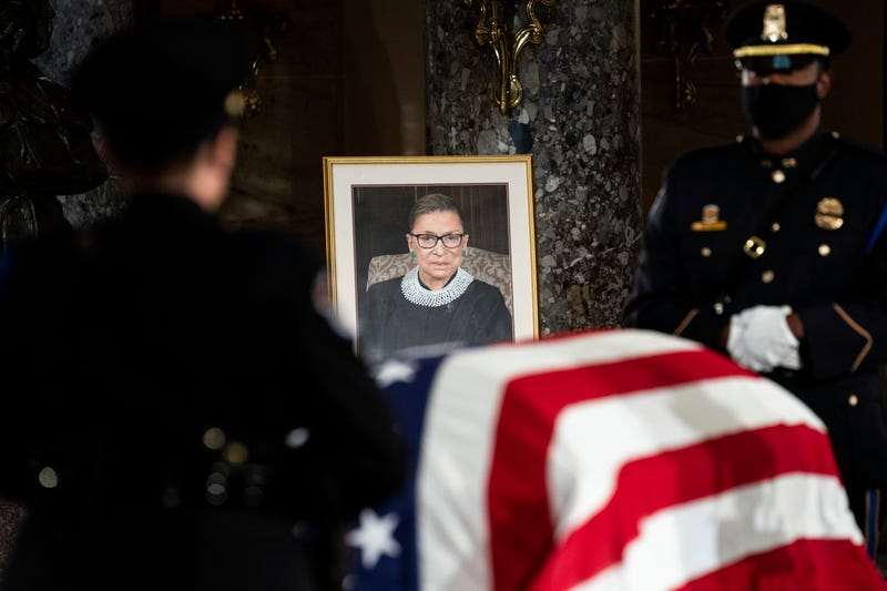 Supreme Court Ginsburg Lying in State