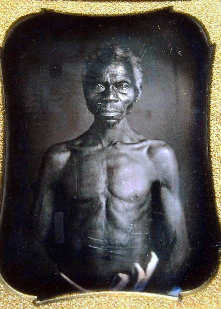 South Carolina slave