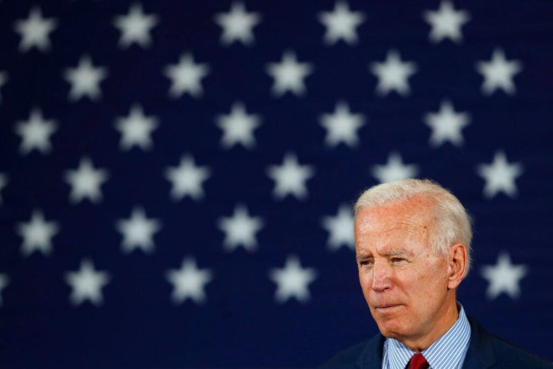 Democratic presidential candidate former Vice President Joe Biden speaks during a community event, Wednesday, Oct. 16, 2019, in Davenport, Iowa.