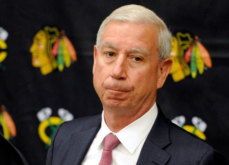 Chicago Blackhawks president John McDonough
