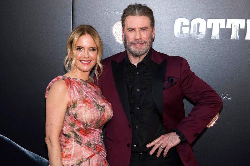 Kelly Preston/John Travolta (AP)