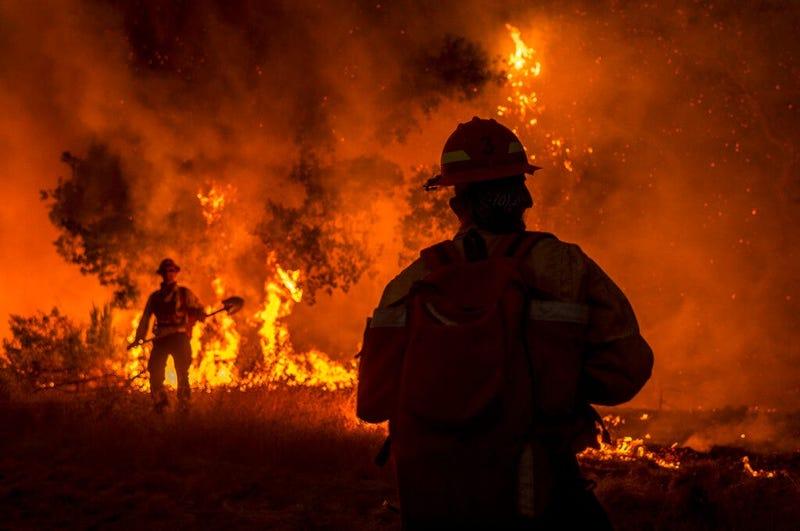 Fires NorCal (AP)