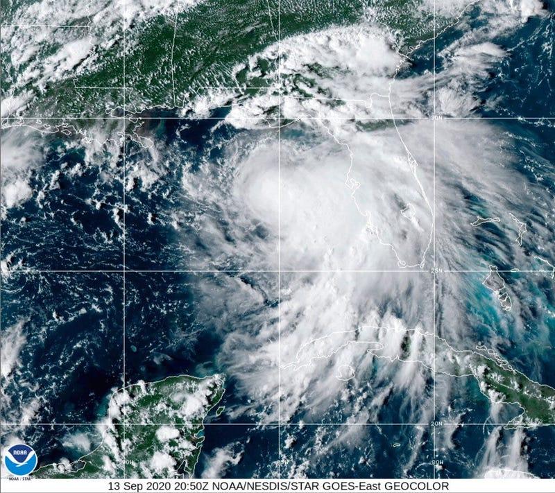 (NOAA via AP)