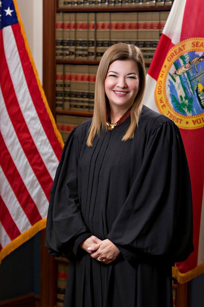 (AP Photo/Florida Supreme Court)