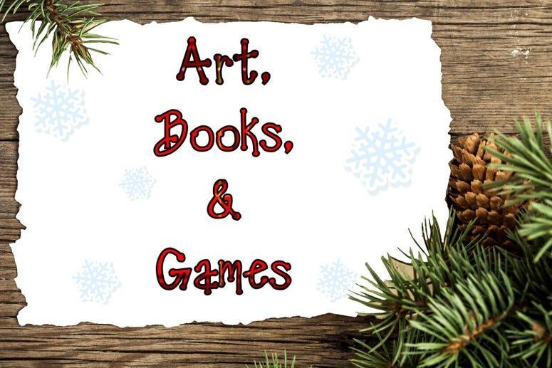 art books games