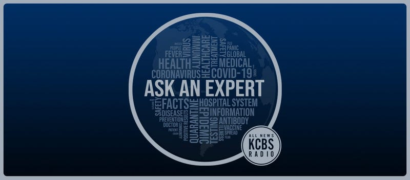 KCBS Radio is answering your questions about all things coronavirus every weekday at 9:20 am