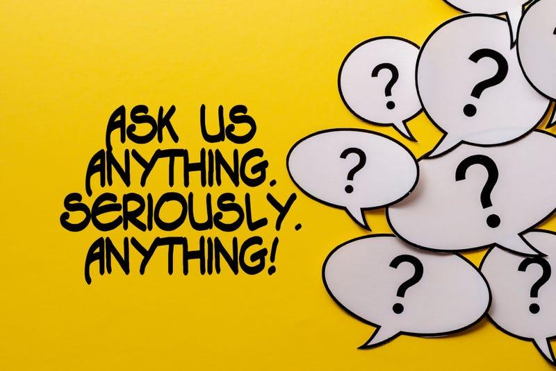 Ask me anything logo