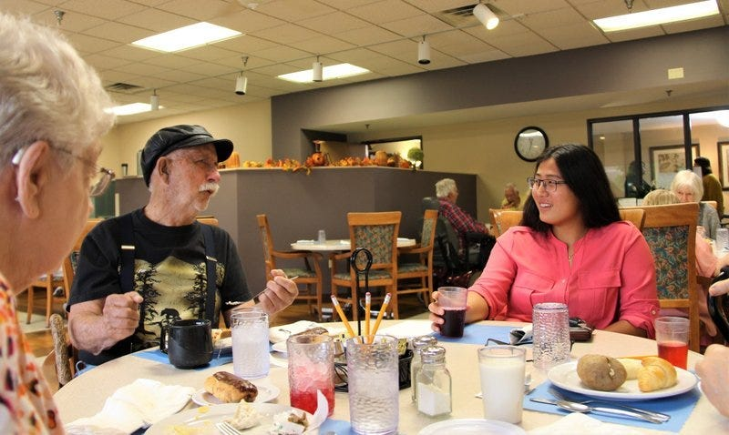 assisted living visits