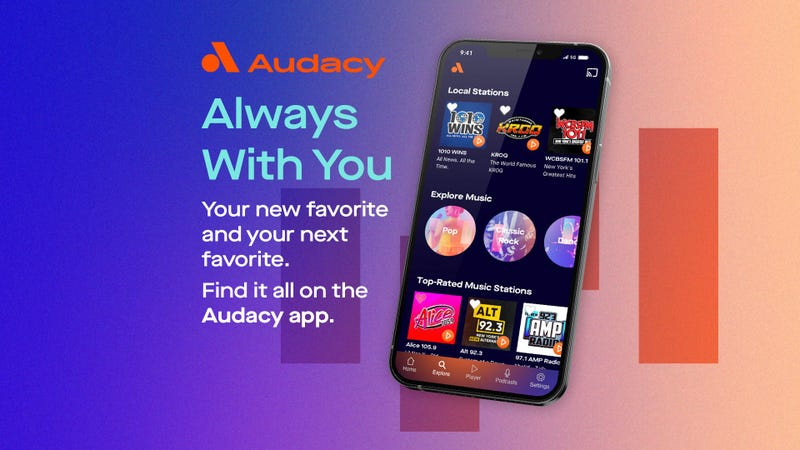 audacy always with you
