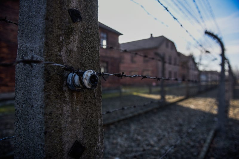 Auschwitz concentration camp on January 21, 2020