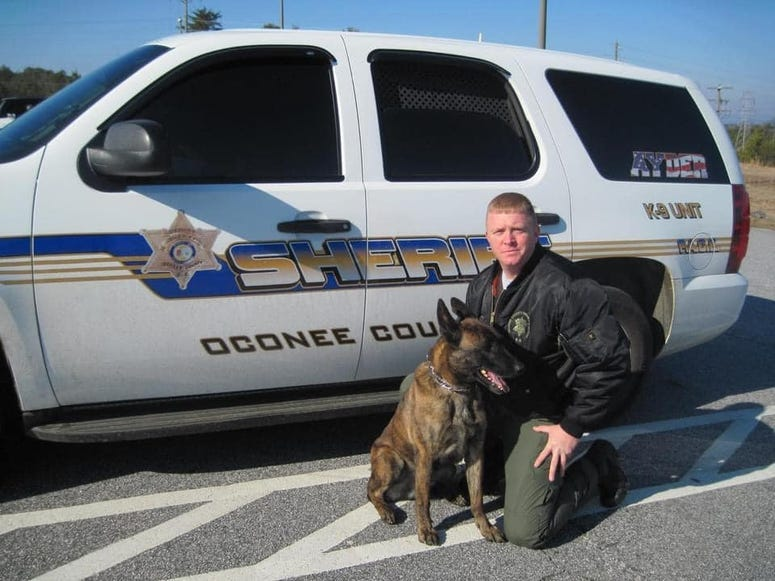 Ayder and Lt. Tommy Crompton - OCSO