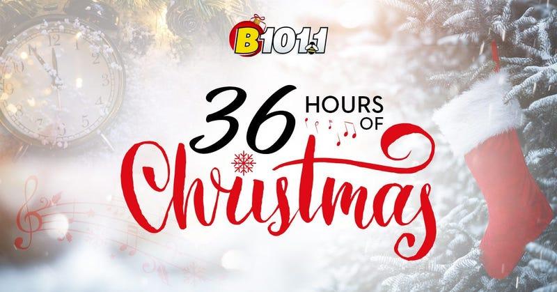 B101 Christmas Music 2021 Listen To 36 Hours Of Christmas Music On B101 1