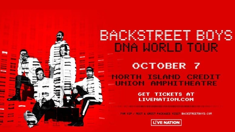 Backstreet Boys (Postponed To New Date in 2021)
