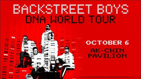 The Backstreet Boys (New Date!)