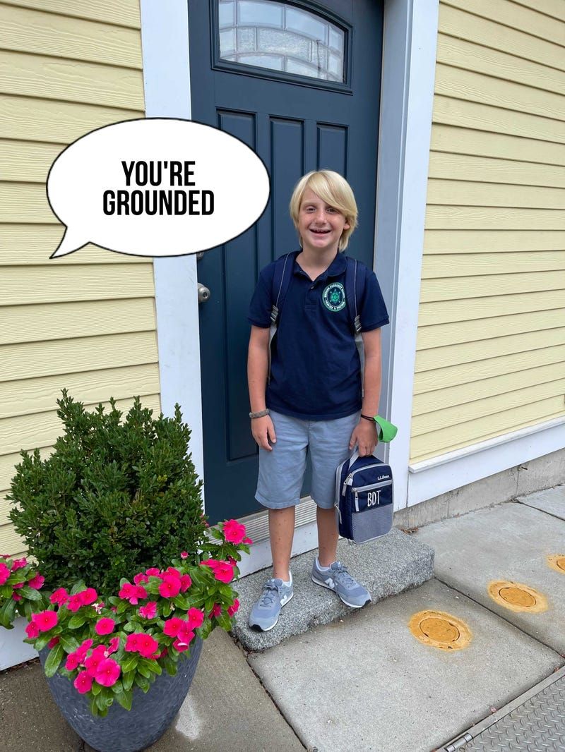 barrett first day of school