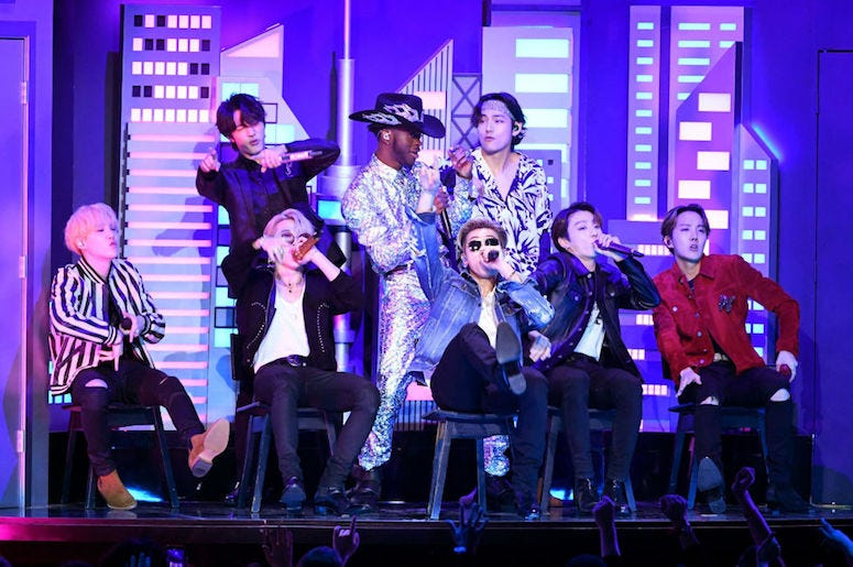 BTS and Lil Nas X