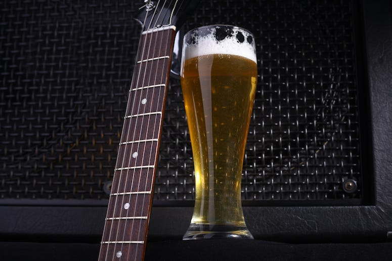 Beer and guitar