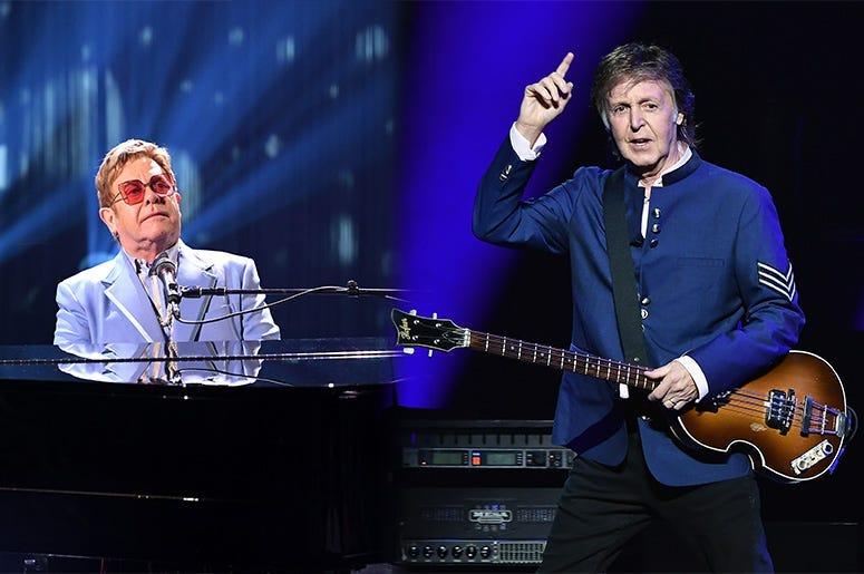 Elton John, Paul McCartney, benefit concert, coronavirus