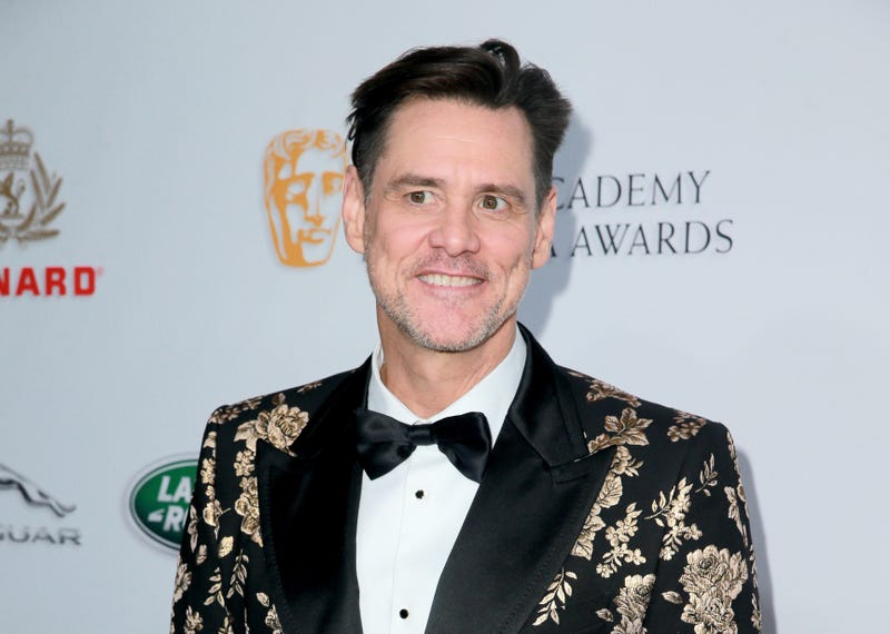 Actor Jim Carrey on the red carpet