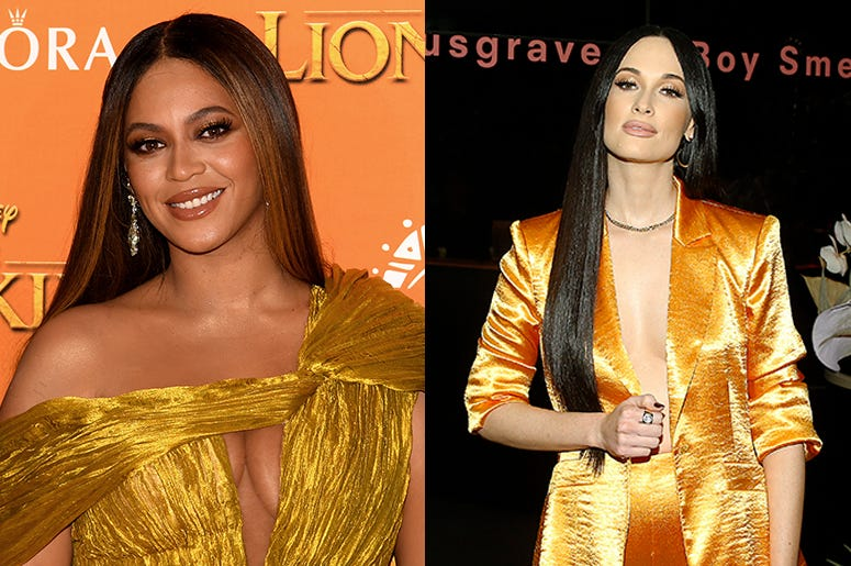 Beyonce and Kacey Musgraves