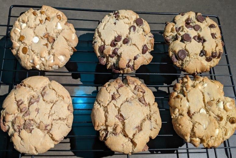 Big Ole multi cookies 100320