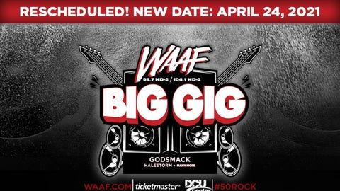 WAAF Big Gig featuring Godsmack
