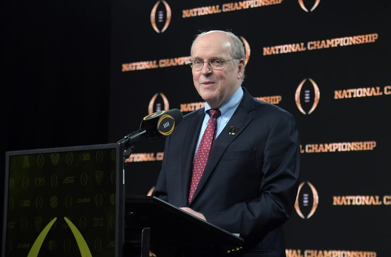 College Football Playoff Executive Director Bill Hancock