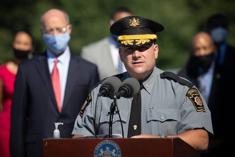 Lt. Col. Christopher Paris of the PA State Police