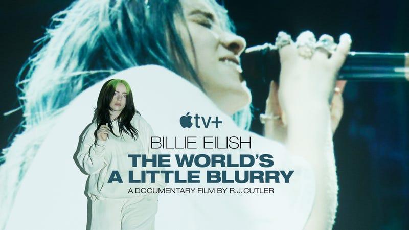 Billie Eilish documentary art